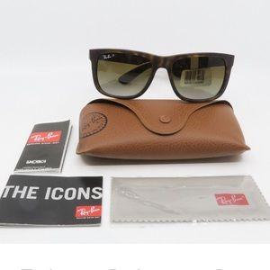 Ray Ban Tortoise Justin RB4165 Sunglasses Wayfarer